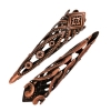 Filigree Cone 8X28mm Antique Copper